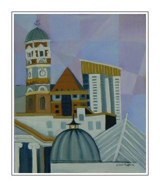 Swansea Rooflines Painting