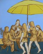 Cafe Culture Painting