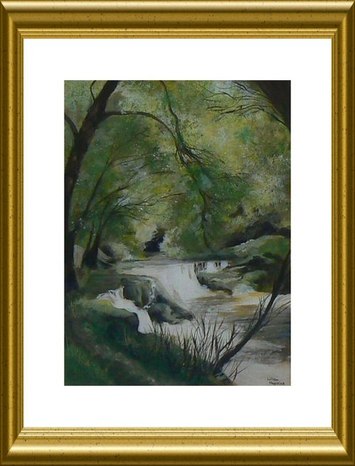 Painting - View of Nedd River