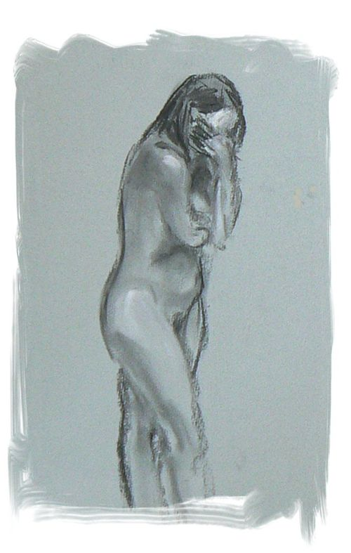 Sketch of Nude Lady