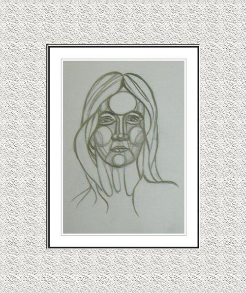 Digitised Face Sketch