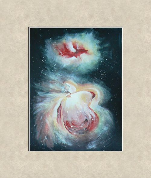 Abstract Painting - Nebula