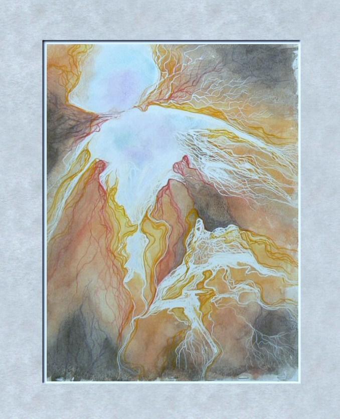 Abstract Painting - Nebula Bug