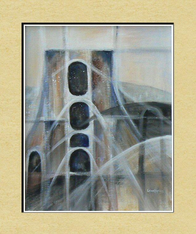 Abstract Painting - Blaenafon