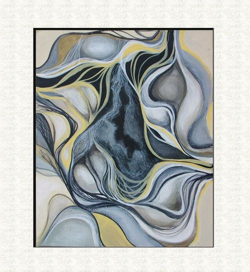 Abstract Painting - Dynamic Flow