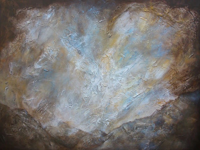 Mysterious Mountain, a Painting by Lilian Hopkins