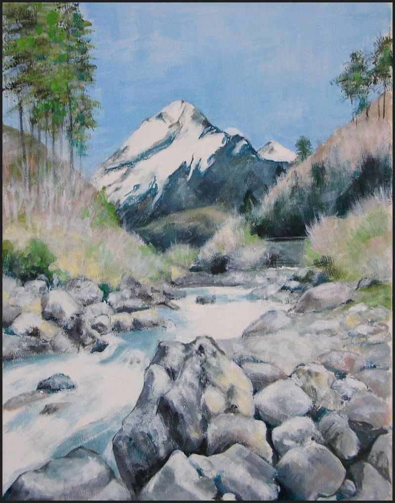 Painting - View Of The Jungfrau