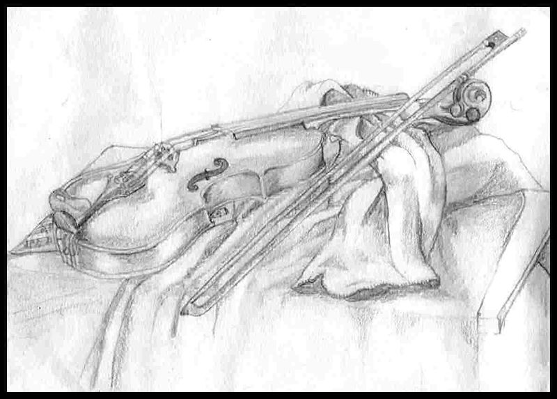 Sketch of Violin