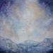 Abstract Blue Mountain