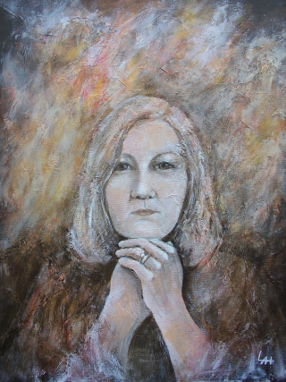 Self Portrait 2017 by Lilian Hopkins
