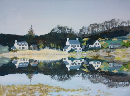 Mull (2010), painting by Lilian Hopkins