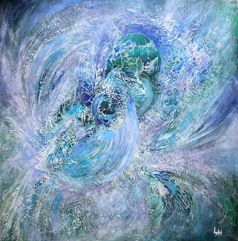 Maelstrom 6 (2018) by Lilian Hopkins