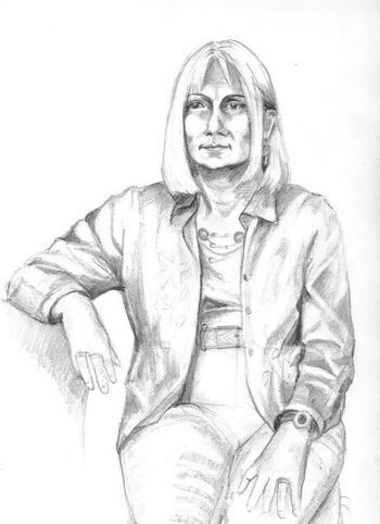 Portrait Of Leslie