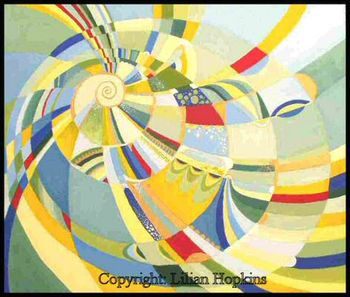 Spiral 6 'The Colour Wheel'