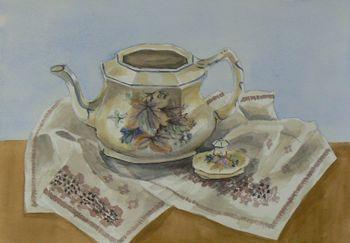 Still Life: Teapot