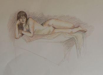 15min nude conte crayons