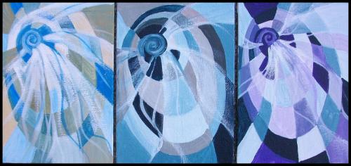 Spiral Triptych B