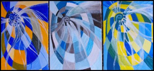 Spiral Triptych C