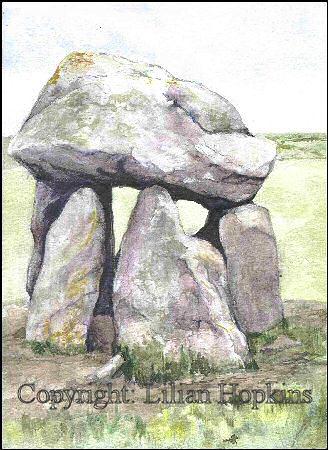 Carreg Samson, Pembrokeshire
