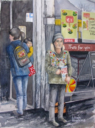 The 'Big Issue' Lady