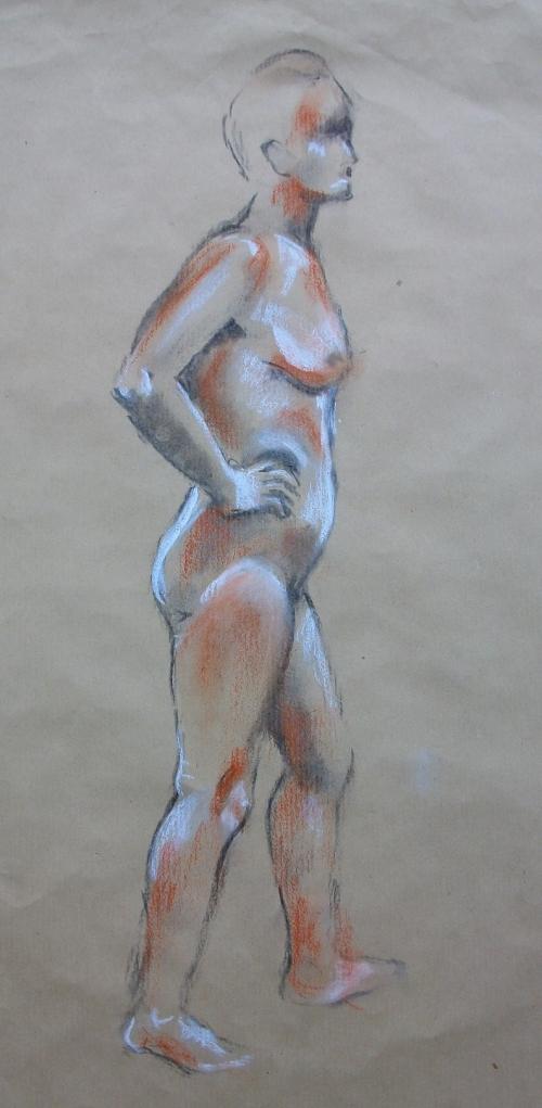 Standing Nude (2)