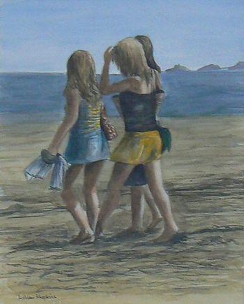 Girls On Swansea Bay