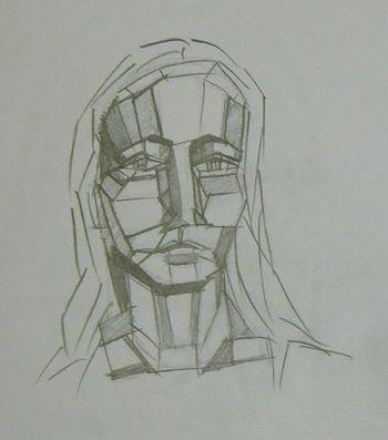 Cubist Face