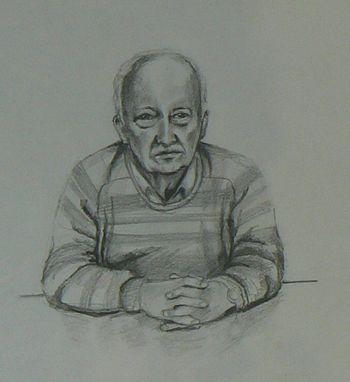 Quick Sketch Of Man
